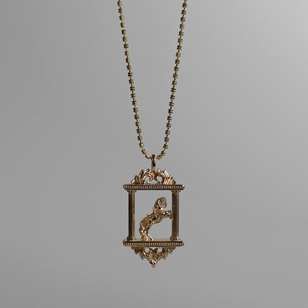 Noble Steed Necklace
