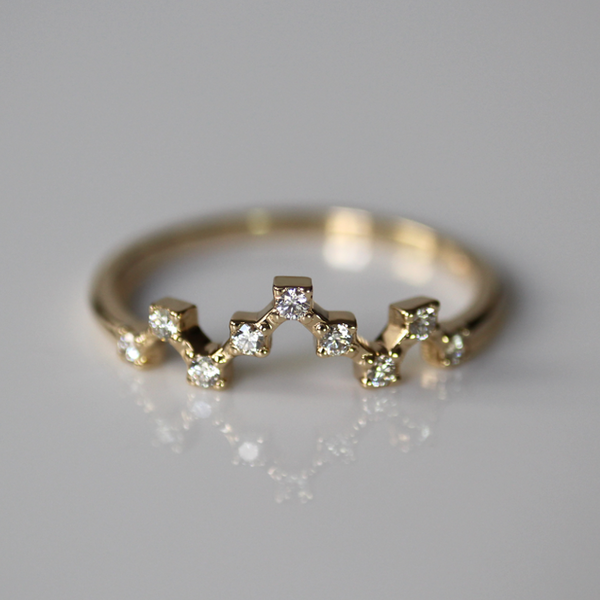 Pixel Crown Ring of Light