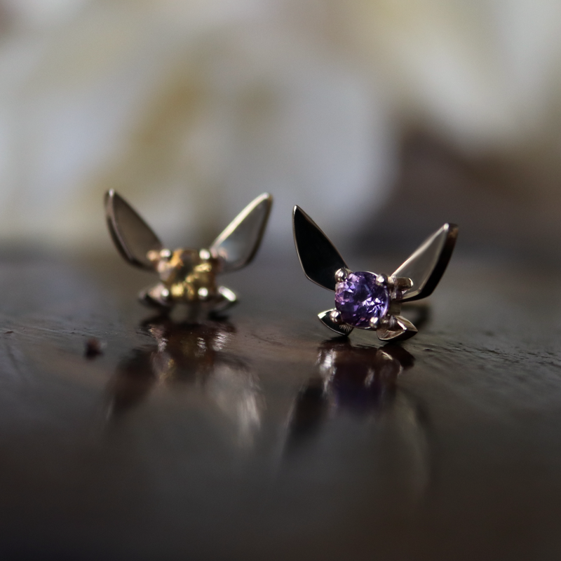 Tattletale Fairy Studs Sample