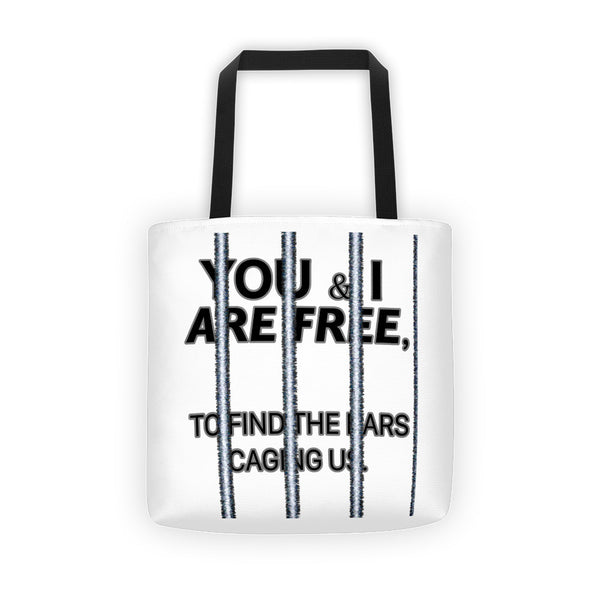 FREEDOM'S NEVER FREE? Tote bag