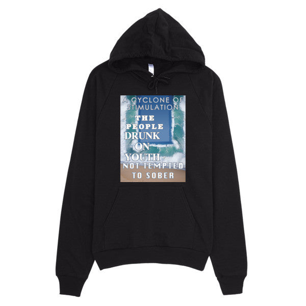 A CYCLONE OF STIMULATION Hoodie