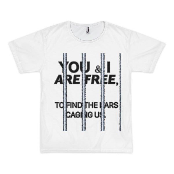 FREEDOM'S NEVER FREE? Short sleeve men's t-shirt (unisex)
