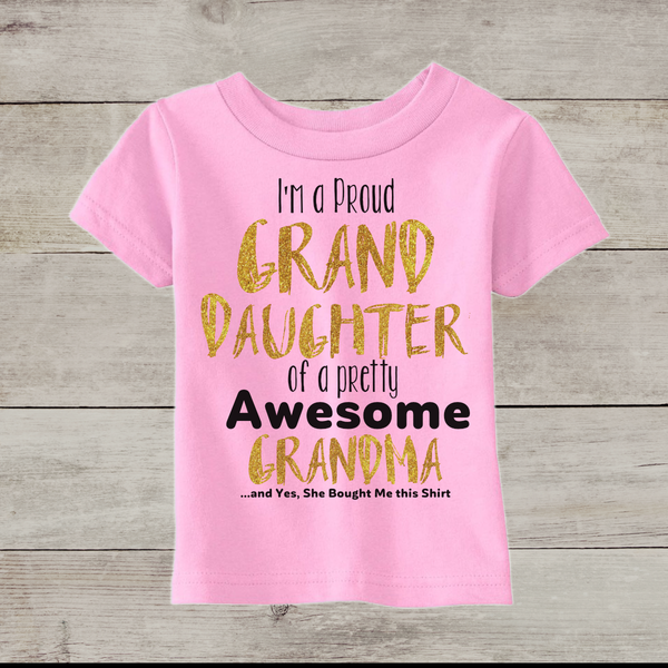 Granddaughter Toddler Tee