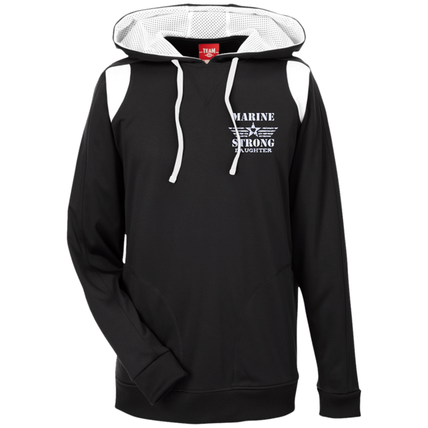 Marine Daughter Team 365 Colorblock Poly Hoodie