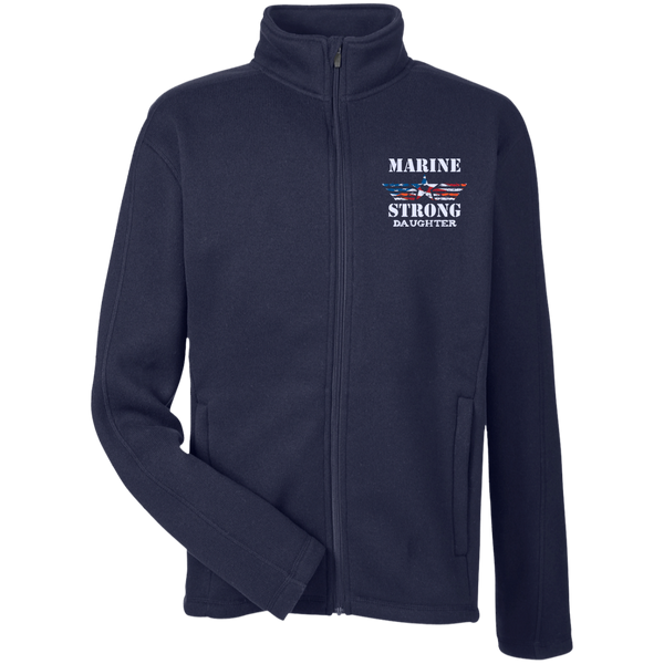Marine Daughter Men's Full Zip Sweater Fleece