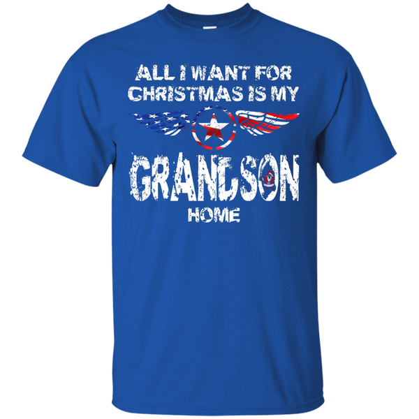 Grandson Christmas Custom Ultra Cotton T-Shirt