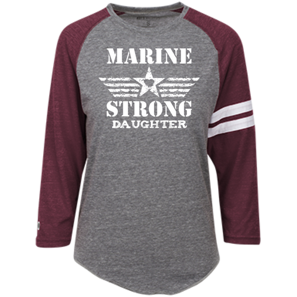 Marine Daughter Heathered Vintage Shirt