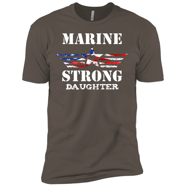 Marine Daughter Next Level Premium Short Sleeve Tee