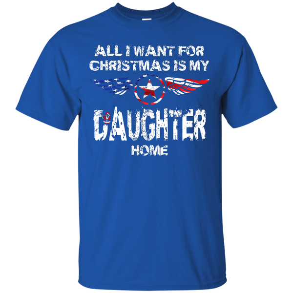 Christmas Daughter Custom Ultra Cotton T-Shirt