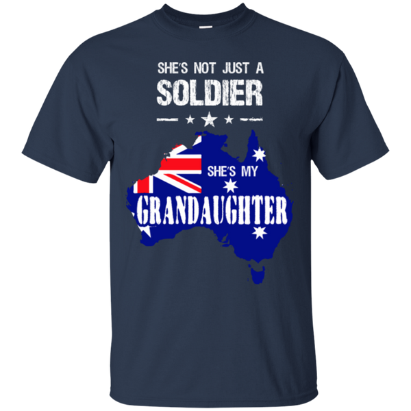 Soldier T-shirt  Granddaughter Australia Custom Ultra Cotton T-Shirt