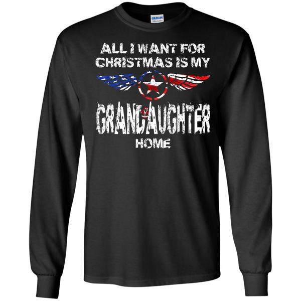 Grandaughter Christmas LS Ultra Cotton Tshirt