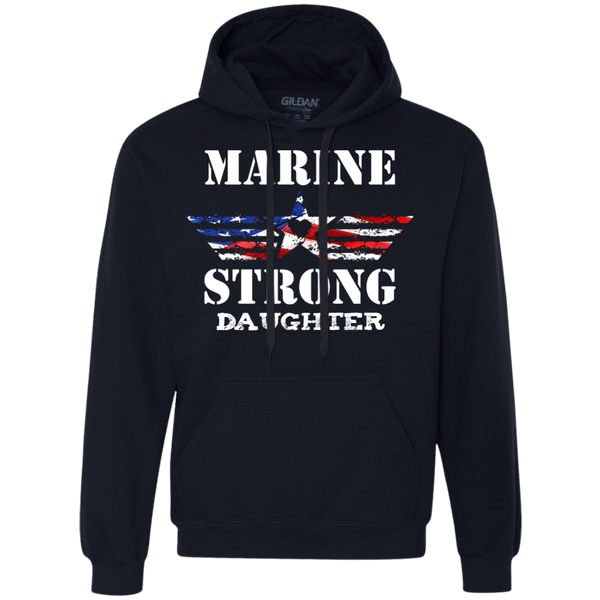 Marine Daughter Heavyweight Pullover Fleece Sweatshirt