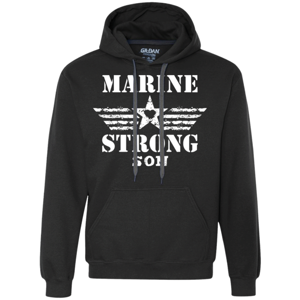 Heavyweight Marine Son Pullover Fleece Sweatshirt