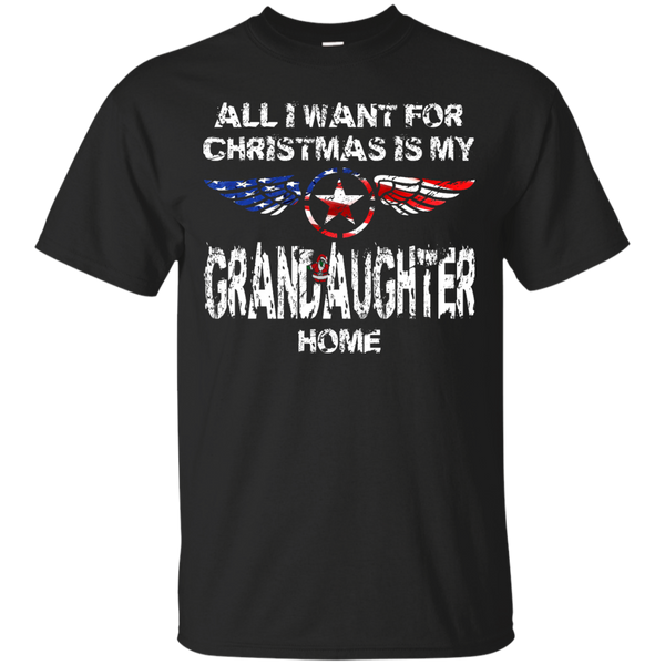 Grandaughter Christmas Custom Ultra Cotton T-Shirt