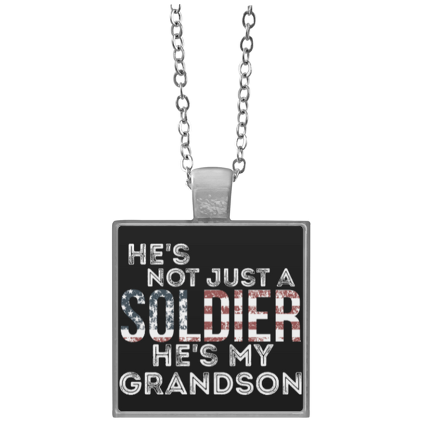 Not Just A Solider Necklace