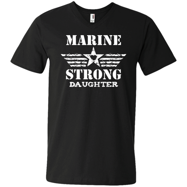 Marine Daughter Men's Printed V-Neck T