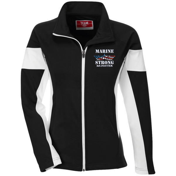 Marine Daughter Team 365 Ladies Performance Colorblock Full Zip