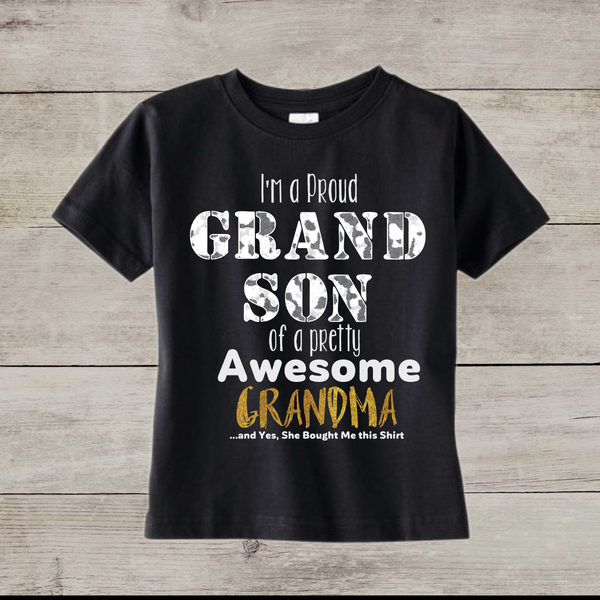 Grandson Toddler Tee