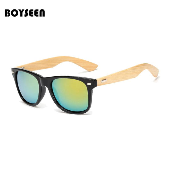 Stylish Hand Made Retro Wooden Sunglasses 100% Bamboo
