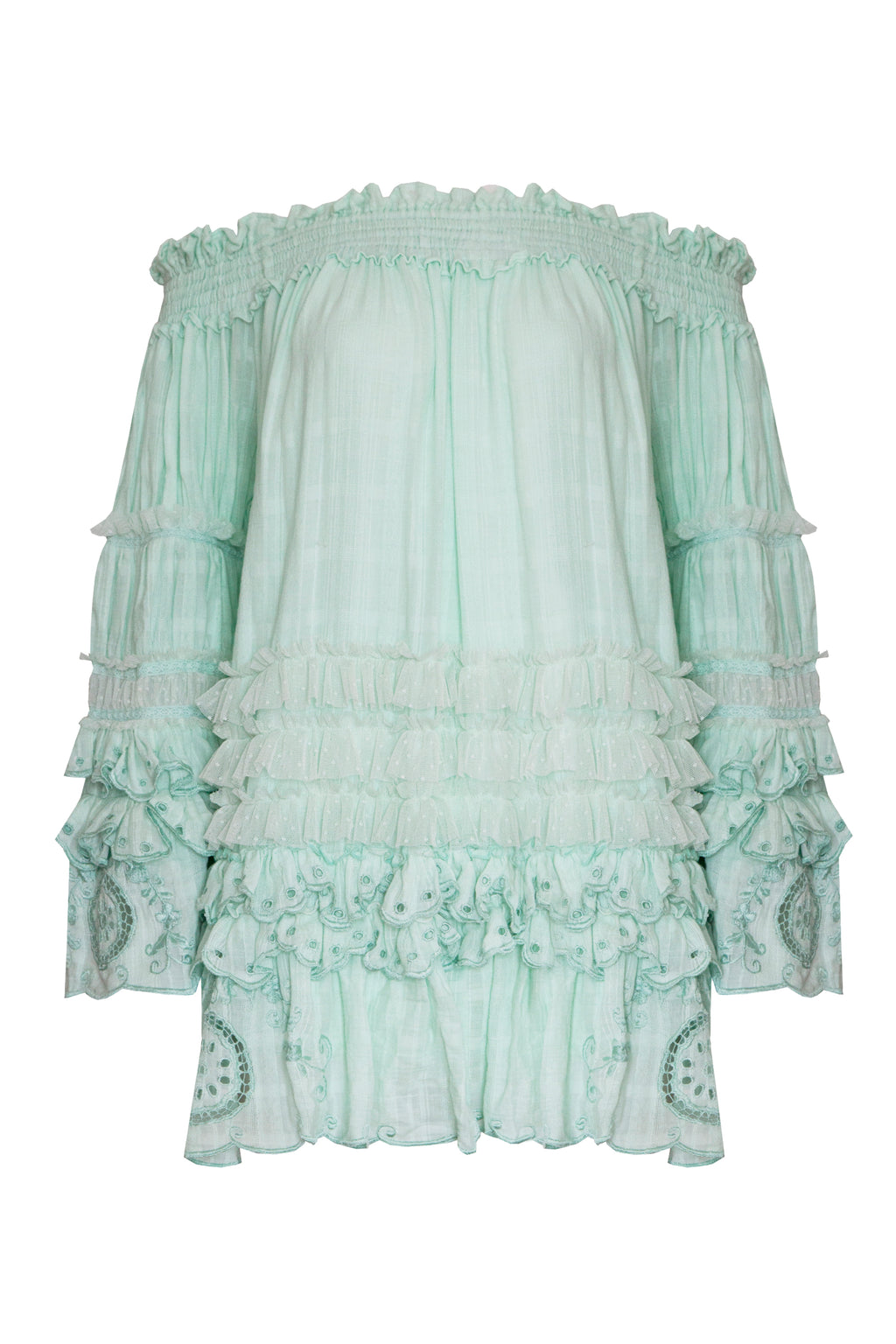 Ophelia - Swing Tunic in Mint