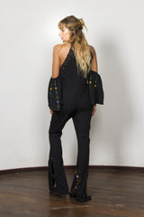 FILLYBOO - ALEX 'AT THE HEART OF IT' JUMPSUIT - BLACK