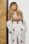 FILLYBOO - ALEX 'AT THE HEART OF IT' JUMPSUIT - IVORY