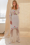 Fillyboo - All Together Now - Hand crocheted & embroidered gown