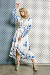 Fillyboo - Colette - Embroidered & printed day dress