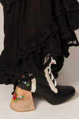 FILLYBOO - DOLL HOUSE BOOTS - BLACK