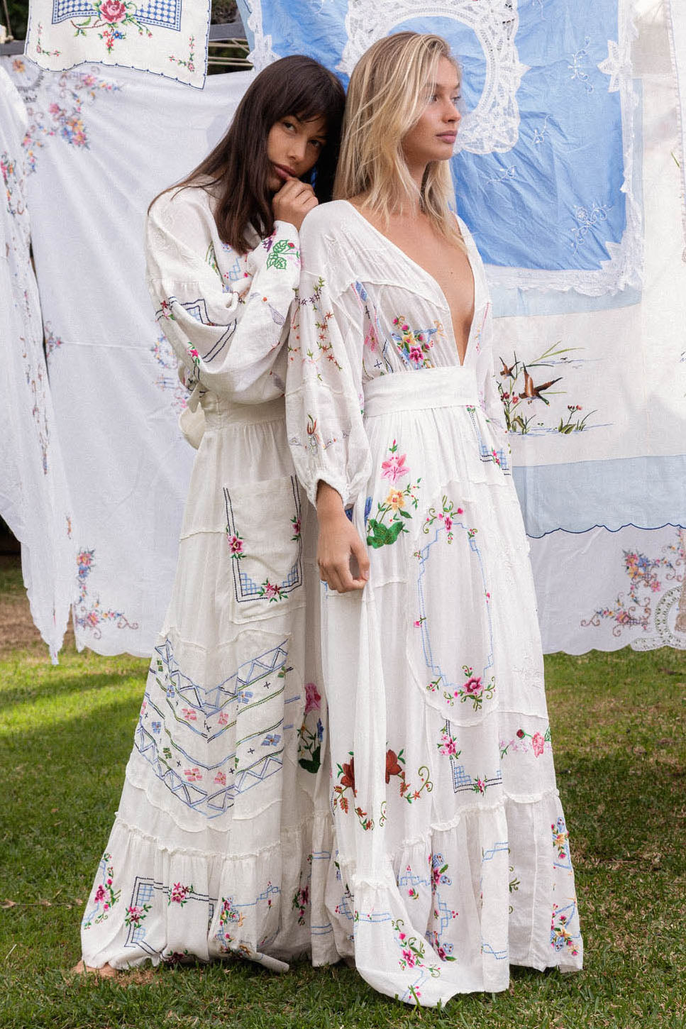 Dream In Colour - Embroidered Maxi Dress