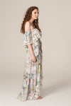 FILLYBOO - 'EARLY LEAVES' - EMBROIDERED DRESS - FLORAL