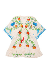 FILLYBOO MINI - 'STRANGE MAGIC' - LITTLE GIRLS KIMONO - BLUSH