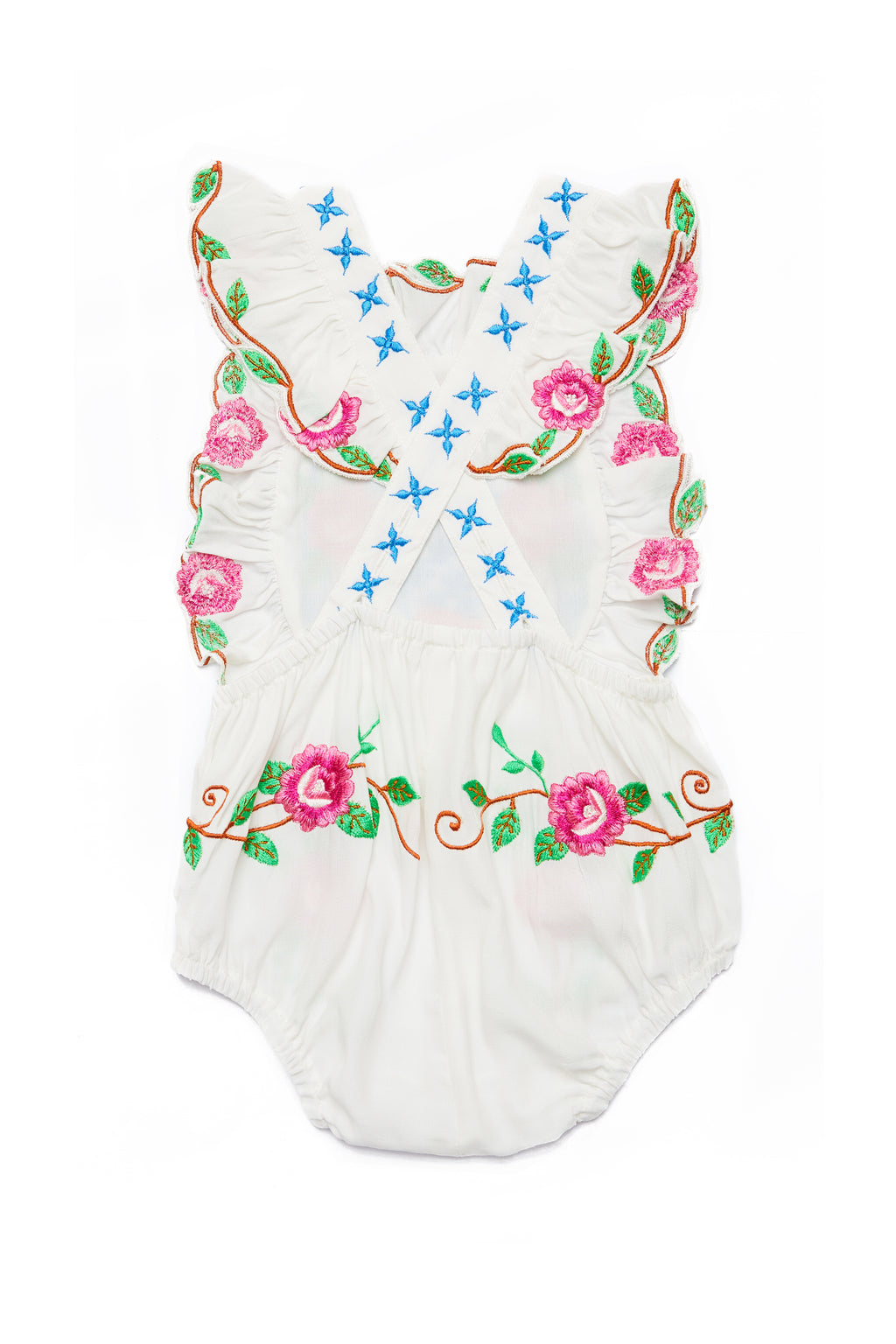 Fillyboo Mini - 'Is There Love On Mars?' - Baby Playsuit - Ivory