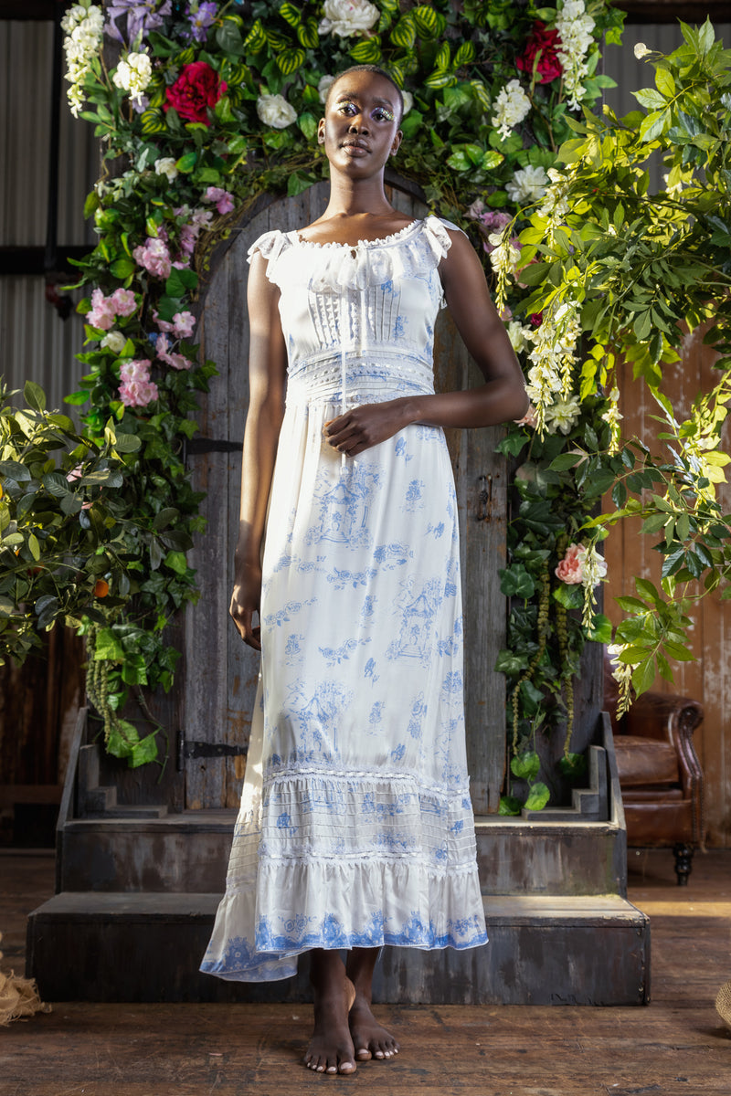 Gazebo Toile - Cherub Camisole Maxi Dress