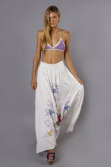 FILLYBOO - 'CITY OF ANGELS' MAXI SKIRT - IVORY