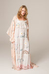 FILLYBOO - 'I AM LOLA' - HAND EMBROIDERED DUSTER - BLUSH