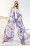 Love Street - Paperbag Pant in Lilac