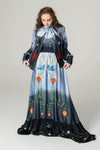 FILLYBOO - 'MR MISTOFFELEES' - EVENING GOWN - NAVY OMBRE