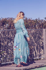 FILLYBOO - 'MY NAME IS ROSE' - EMBROIDERED DUSTER/MAXI DRESS