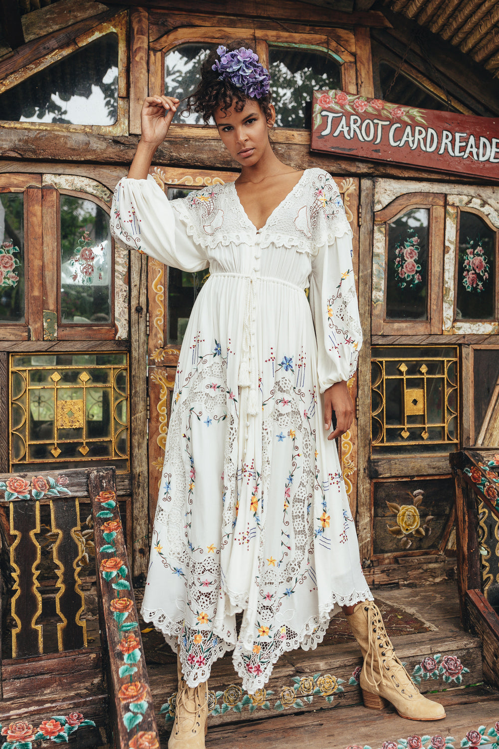 9f2b9abfa7 Fillyboo - Once Upon A Song - Embroidered maxi dress & duster – fillyboo
