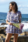 Penzance - Spliced mini dress - Paisley Rhapsody