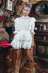 Fillyboo - Penzance - Embroidered mini dress