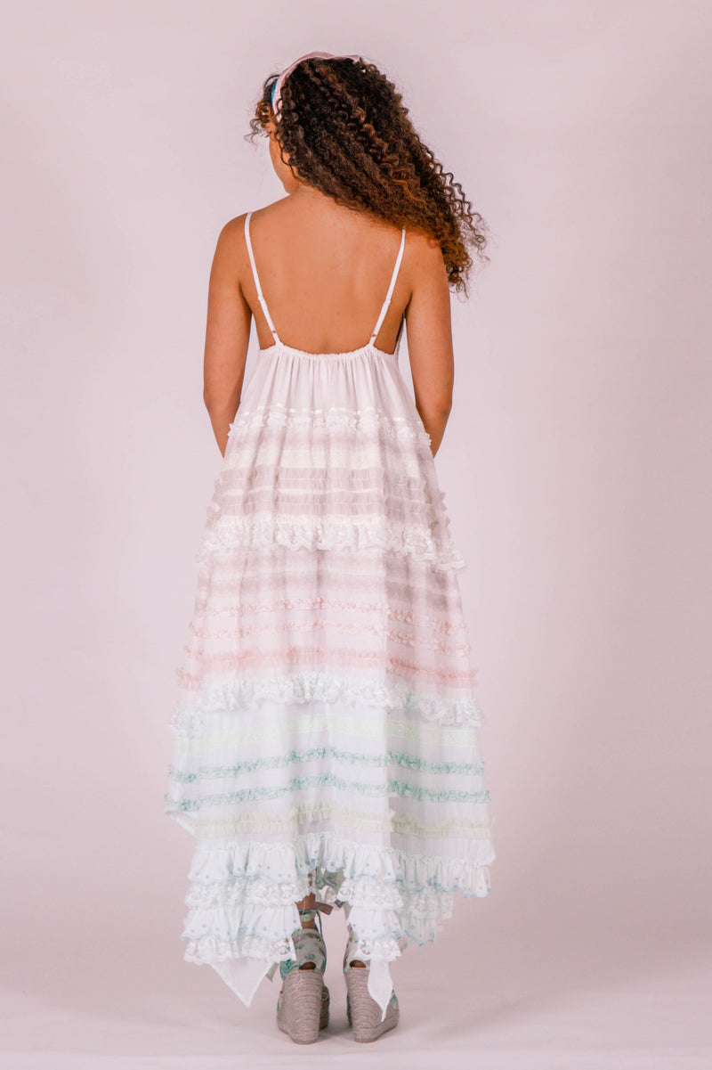Ribbon Sky - Maxi dress