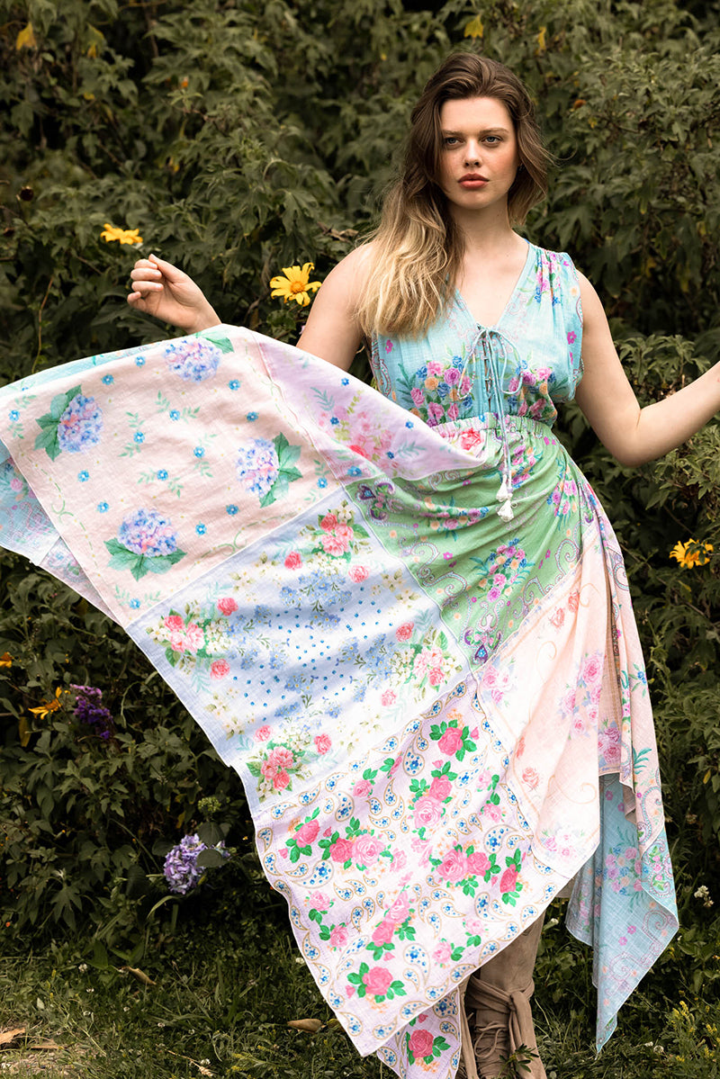 Scarf Rhapsody 'Athena' - Maxi Dress
