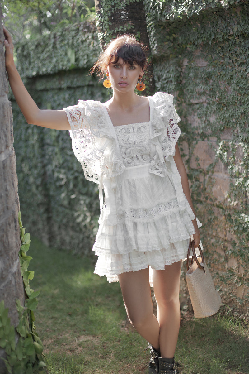 Shipwrecked - Mini dress - Ivory