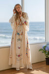 FILLYBOO - 'SIXPENCE' - REVERSIBLE DUSTER/GOWN - LIGHT BLUSH