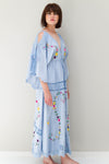 'SIXPENCE' - REVERSIBLE DUSTER/GOWN - CHAMBRAY
