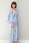 SIXPENCE' - REVERSIBLE DUSTER/GOWN
