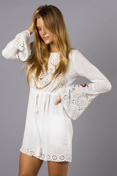 FILLYBOO - 'STEVIE' SUN DRESS - IVORY