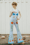 FILLYBOO - 'STRANGE MAGIC' PINAFORE OVERALLS - CHAMBRAY